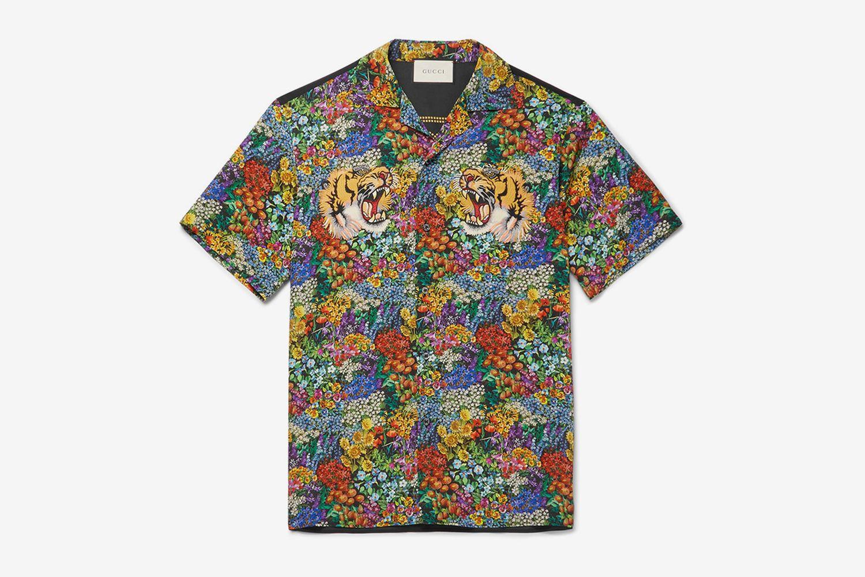 Floral Tiger Shirt