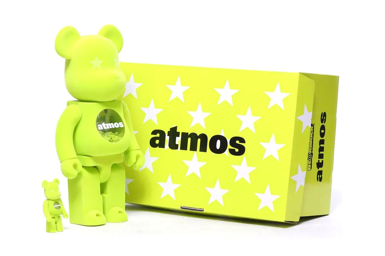 Images of the new collaboration between atmos and Lacsote