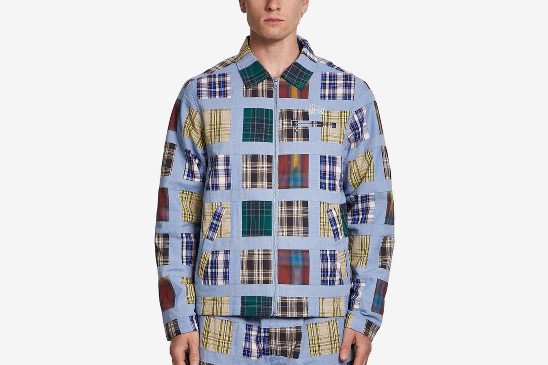 Madras Patchwork Plaid Jacket