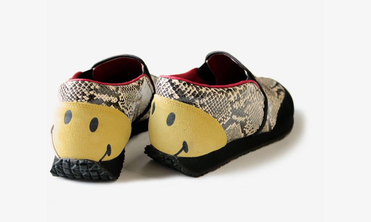 Kapital's Smiley Snake-Print Slip-On Is the Statement Shoe You Didn't Know You Need