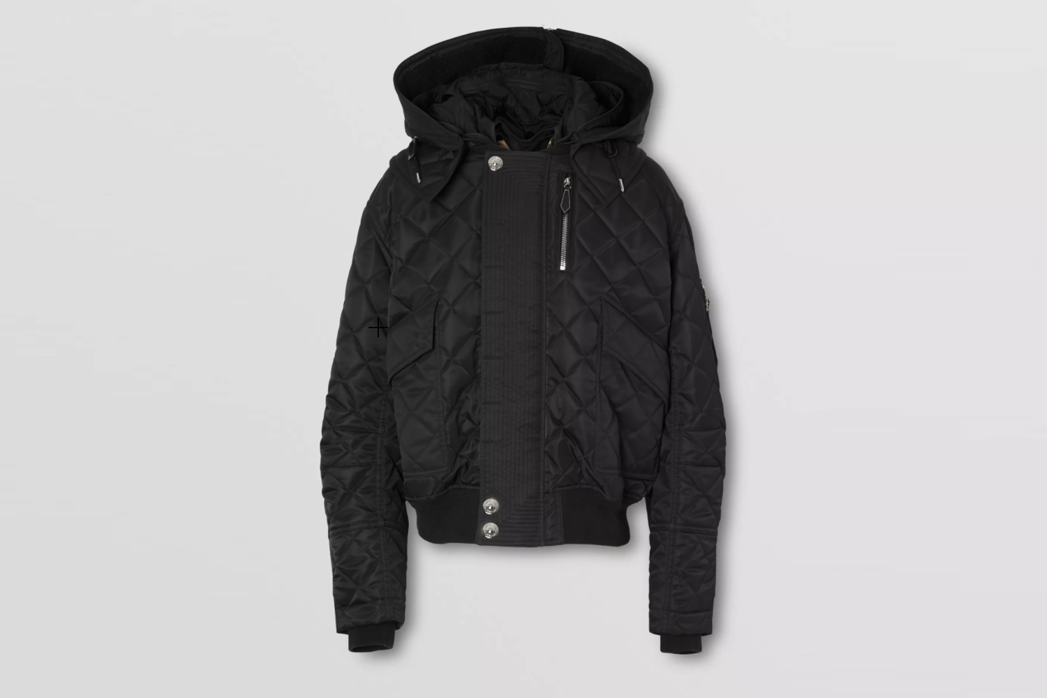 Detachable Hood Quilted Jacket