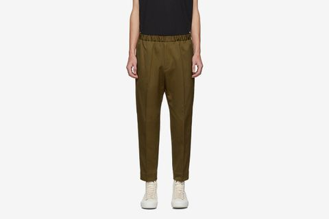 Drill Tapered Trousers