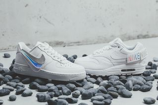 b3924cbe6a Nike's Air Force 1 & Air Max 1 Arrive With Removable Branding Patches