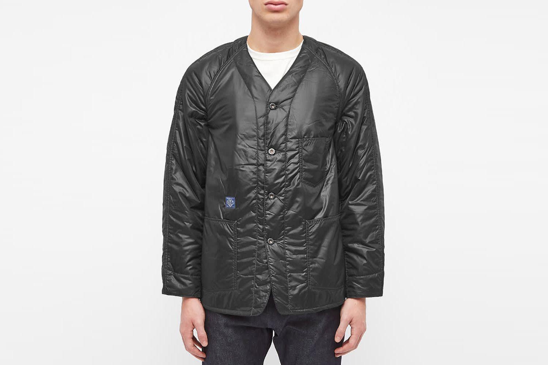 Padded Nylon Liner Jacket