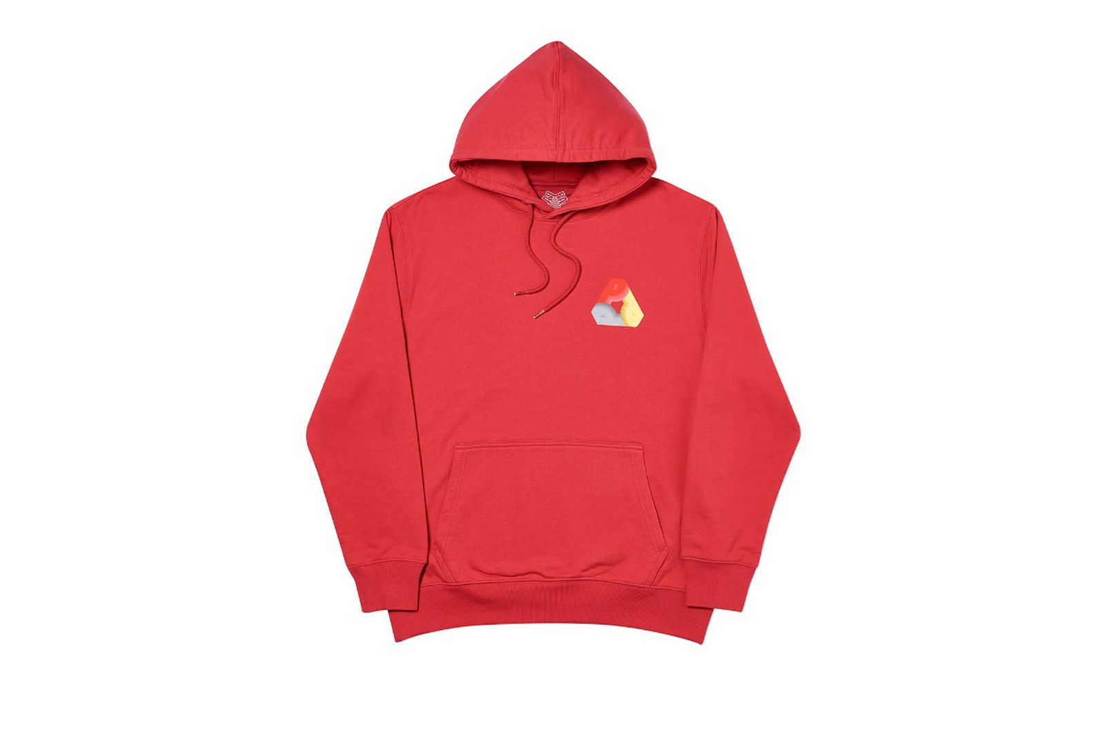 Palace 2019 Autumn Hood Phat P Red Front