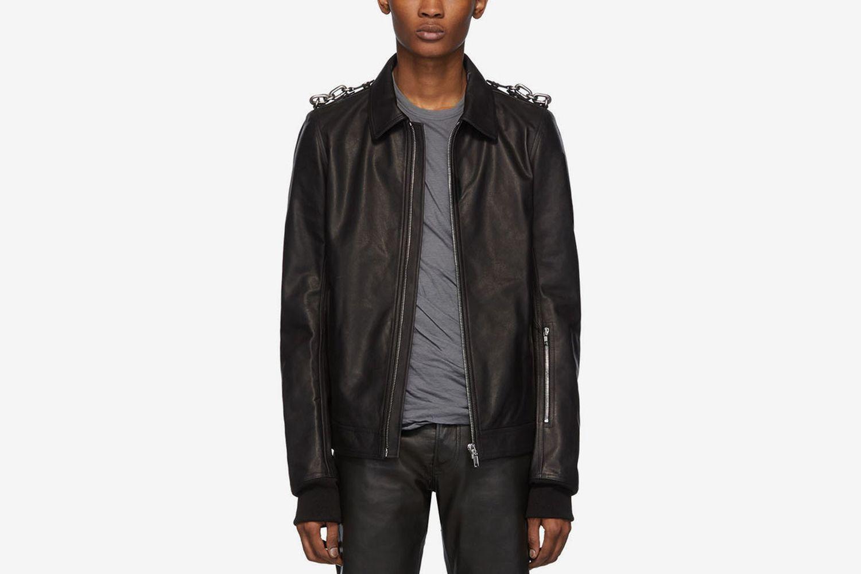 Leather Rotterdam Jacket