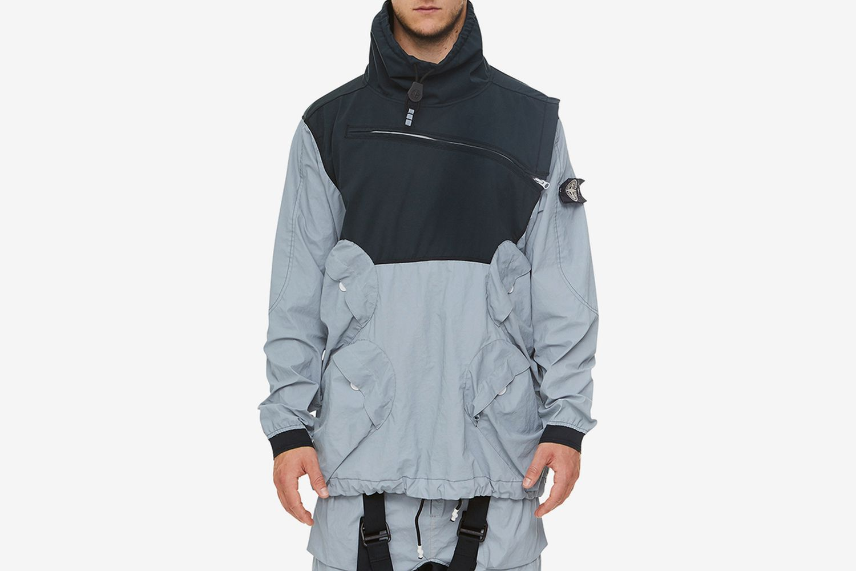 Reflective Pullover Jacket