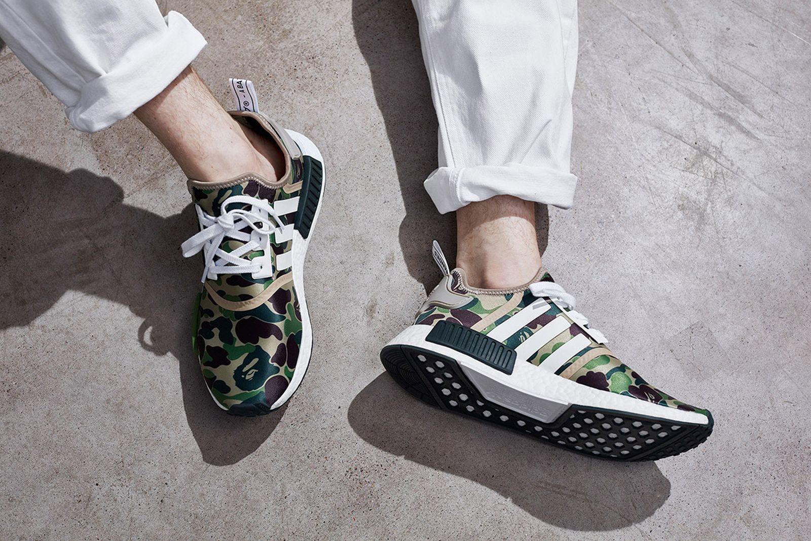 marca esponja Acuoso  adidas x BAPE: Every Collaboration Ever