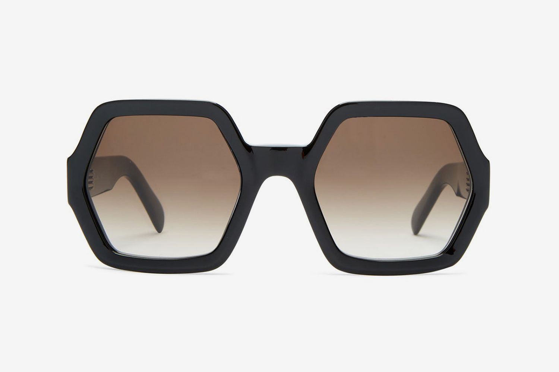 Hexagon Acetate Sunglasses