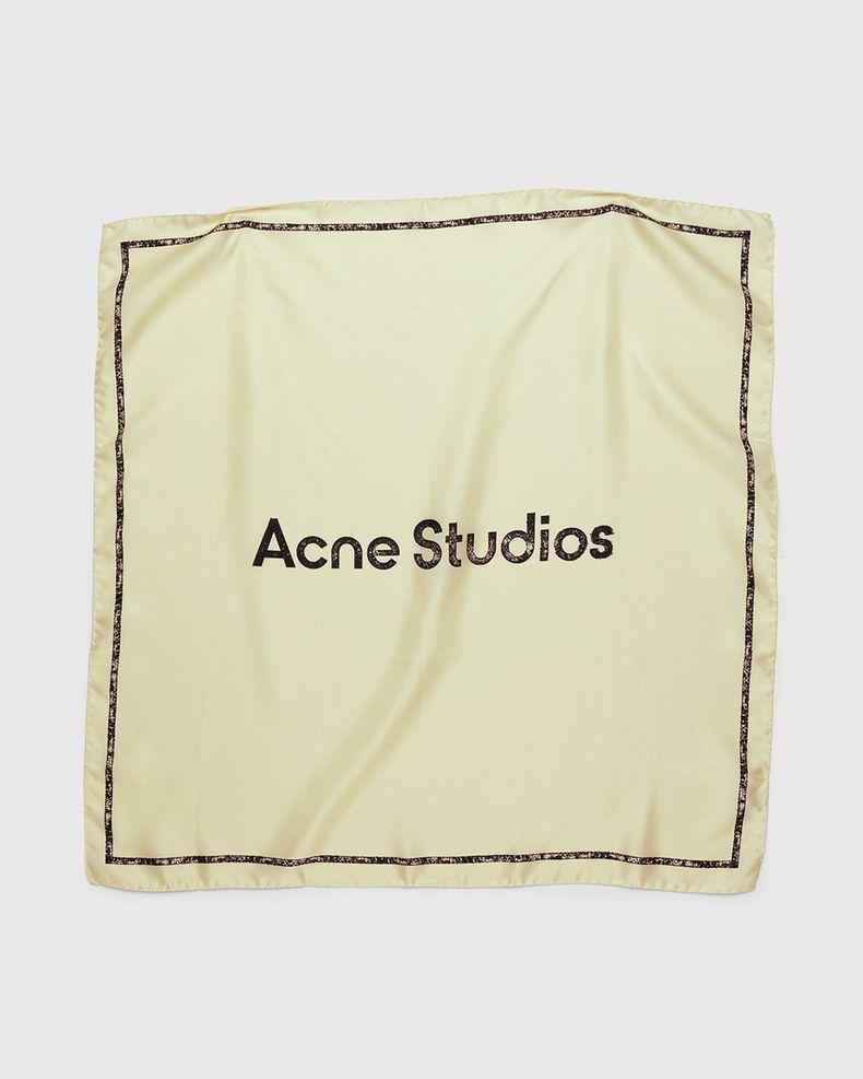 Acne Studios – Logo Bandana Ivory