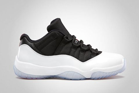 sports shoes ce1d6 dbeaa Air Jordan 11 Retro Low White Black – True Red
