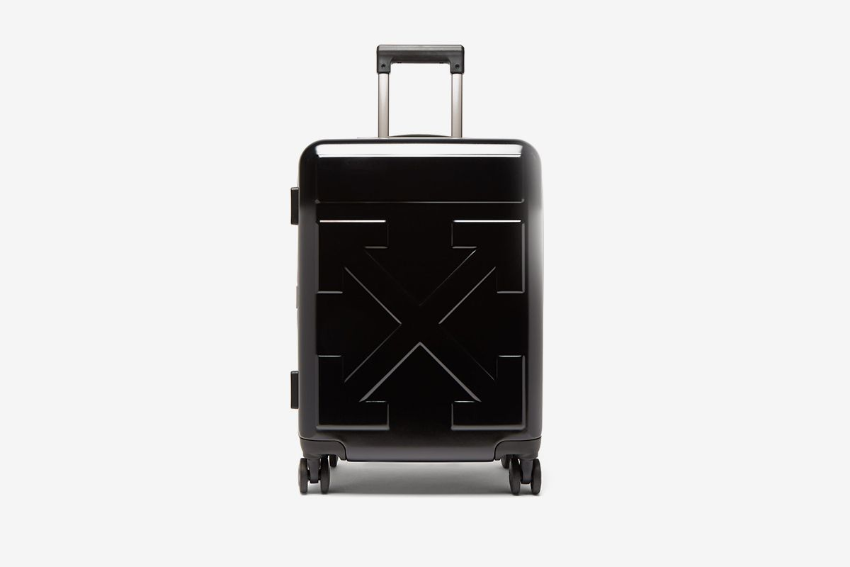 Arrow Embossed Cabin Suitcase