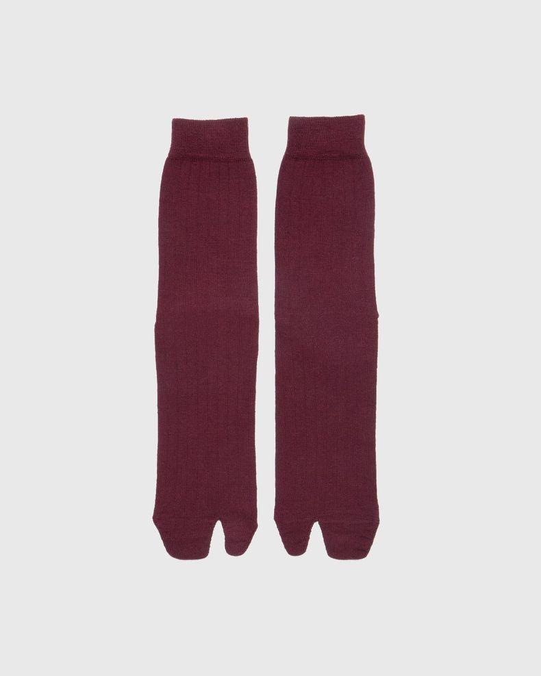 Maison Margiela – Tabi Socks Brown