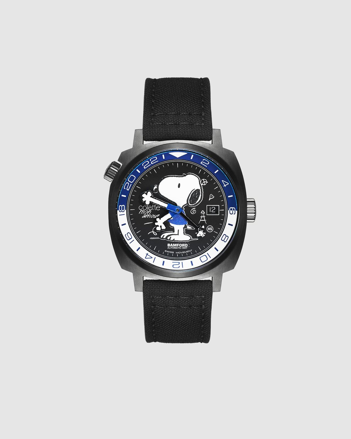 Colette Mon Amour x Bamford — Snoopy Watch Black - Image 1