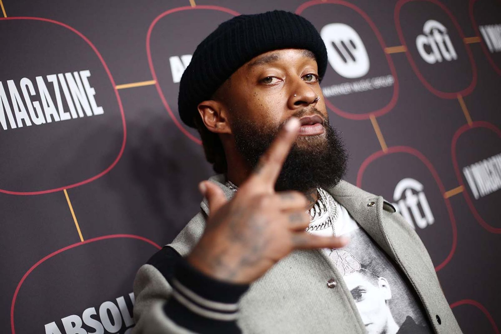 Ty Dolla $ign attends the Warner Music Group Pre-Grammy Party