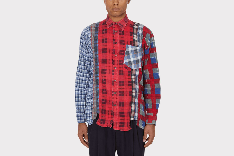 7 Cuts Flannel Shirt