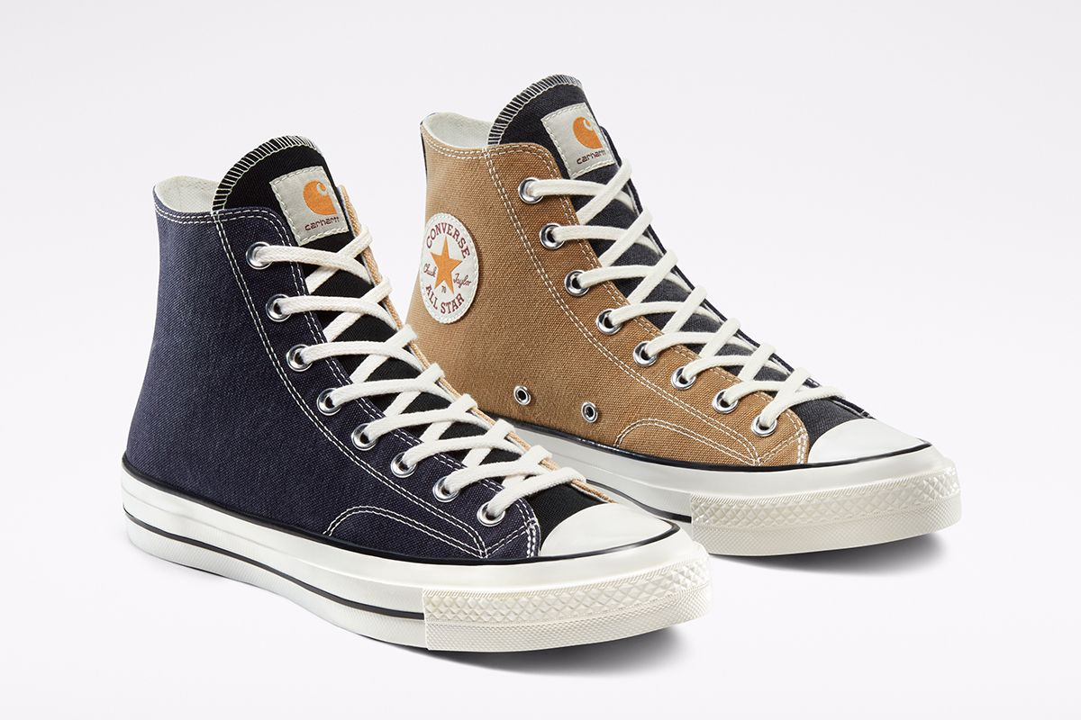These Converse Chuck 70s Are Made From Vintage Carhartt Garments 15