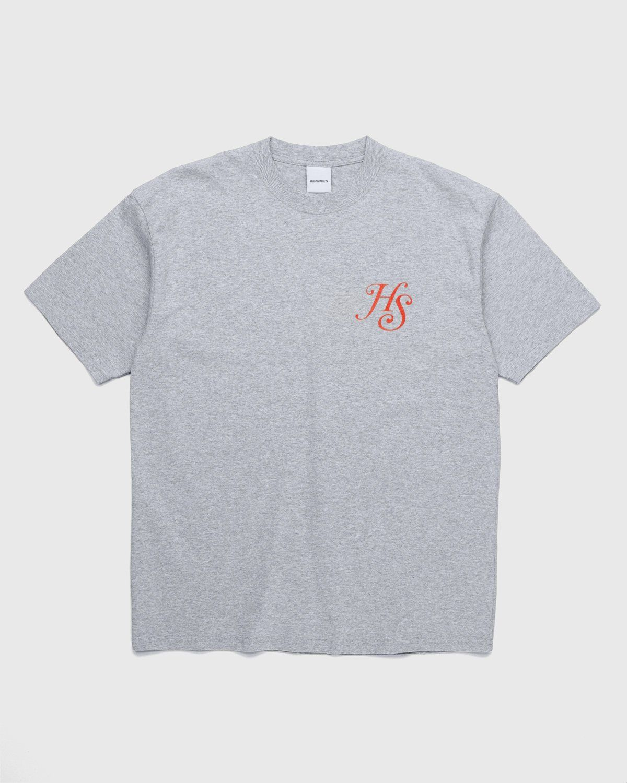 Highsnobiety – High Standards T-Shirt Grey - Image 2