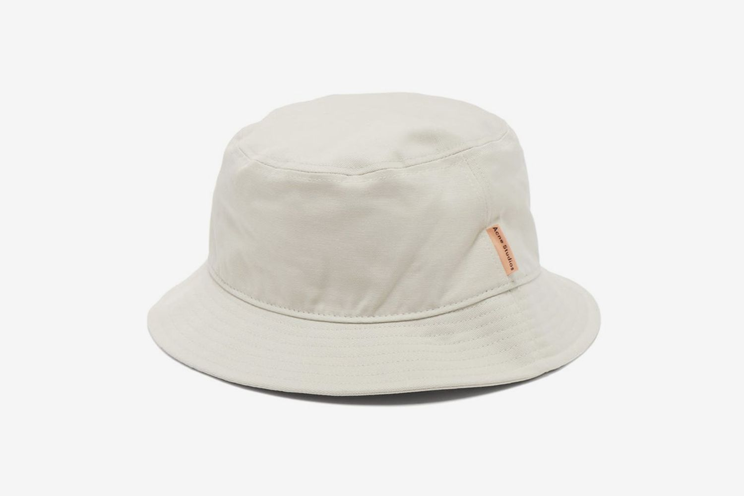Brun Cotton-Canvas Bucket Hat
