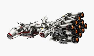 Recreate the Opening to 'Star Wars' With This Insane LEGO Tantive IV Set