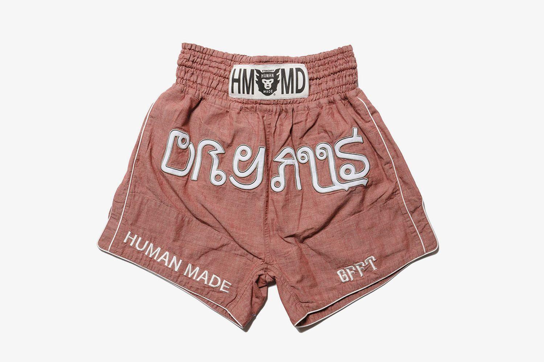 Chambray Muay Thai Shorts