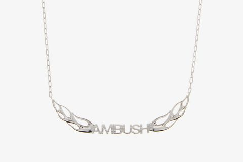 Flame Sterling-Silver Necklace