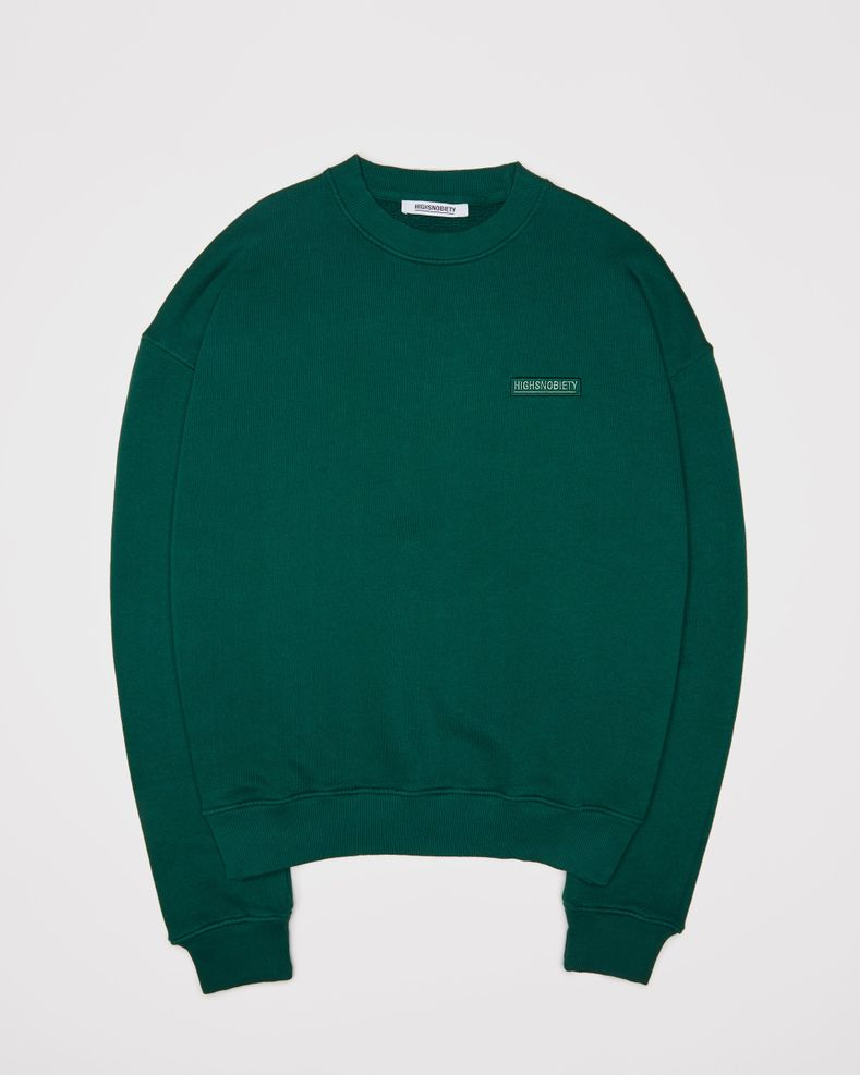 Highsnobiety Staples — Sweatshirt Green