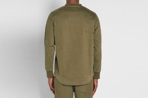 Maharishi Woven Crew Neck Sweater