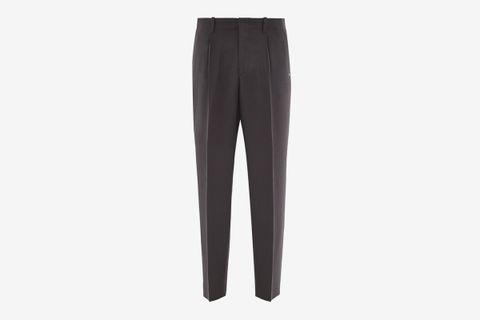 Borrowed Wool Wide-Leg Trousers