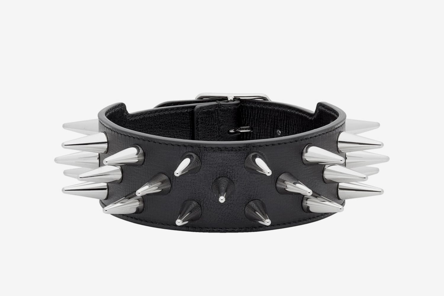 Leather Studded Choker