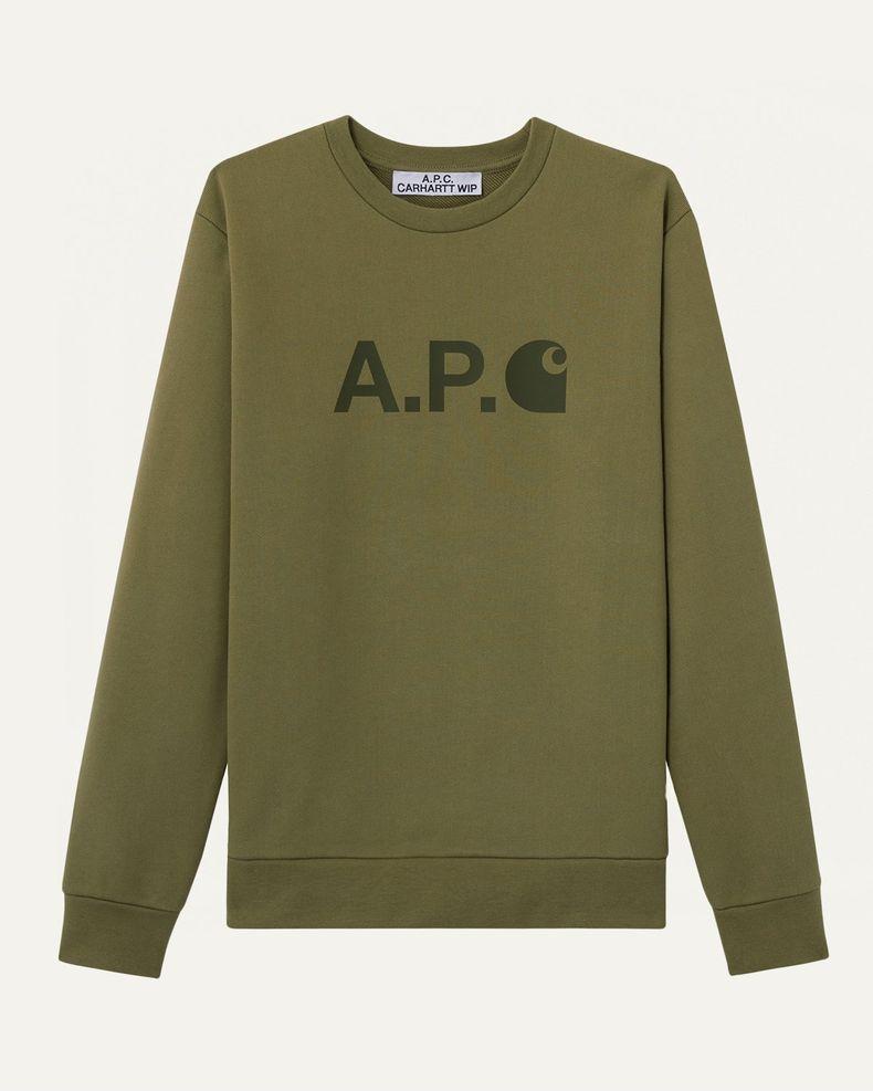 A.P.C. x Carhartt WIP — Ice Sweatshirt