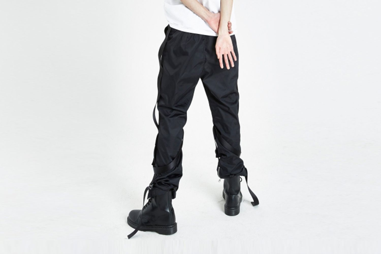 Bondage Zipper Pants