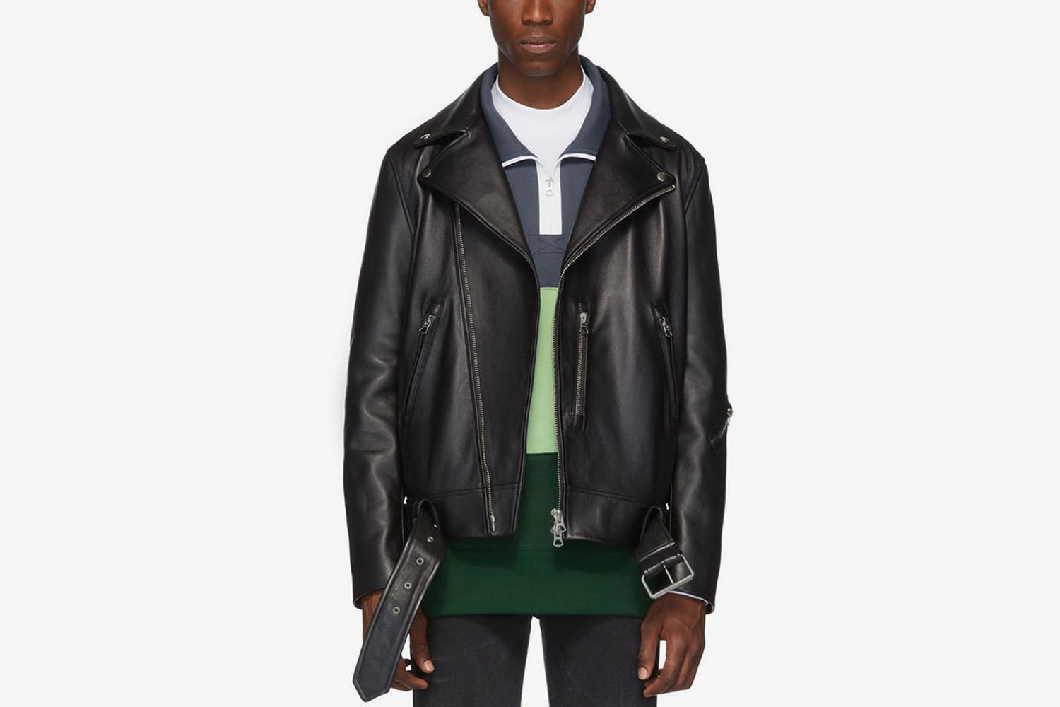 Leather Nate Clean Jacket