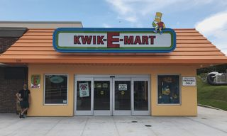 A Real-Life Kwik-E-Mart From 'The Simpsons' Is Now Open for Business