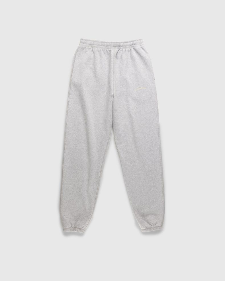 Highsnobiety – Classic Logo Fleece Pants Heather Grey