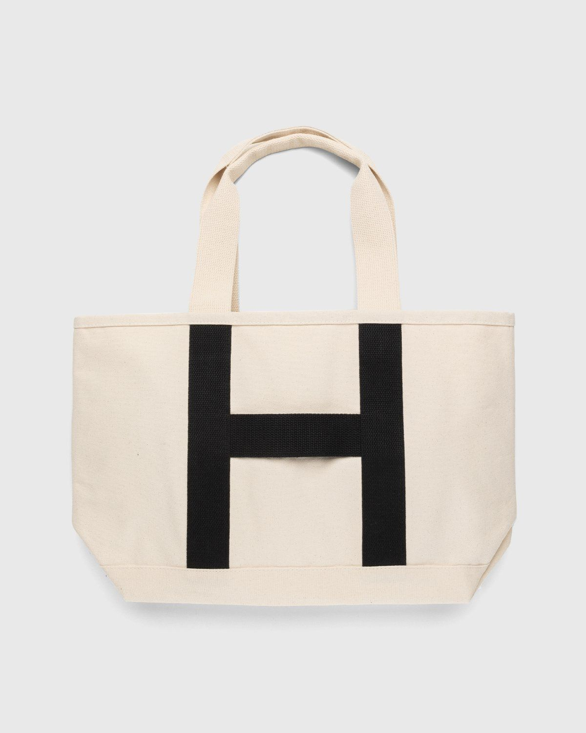 Highsnobiety – Heavy Canvas Large Shopper Tote Natural - Image 1
