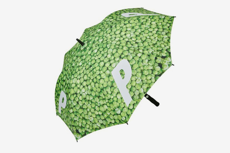 Peas Umbrella Green
