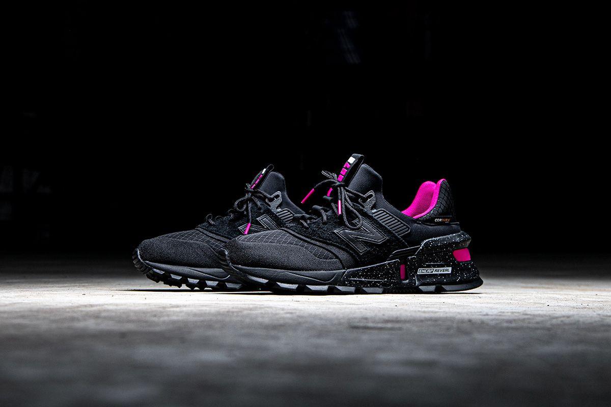 New Balance 997S Cordura black pink