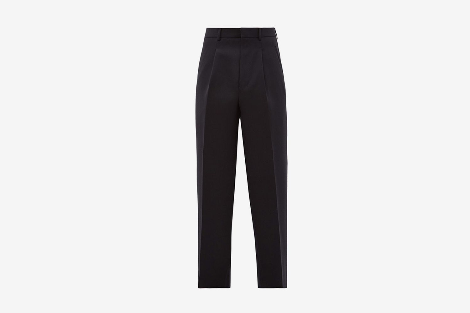 Tailored Wool Twill Trousers