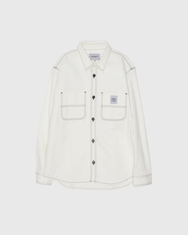 Carhartt WIP x Ljubav —  Chalk Shirt Jac Wax - Image 2