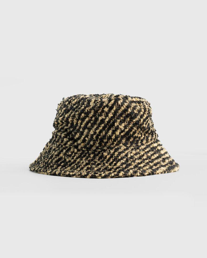 Our Legacy – Bucket Hat Black Beige Cigar Stripe