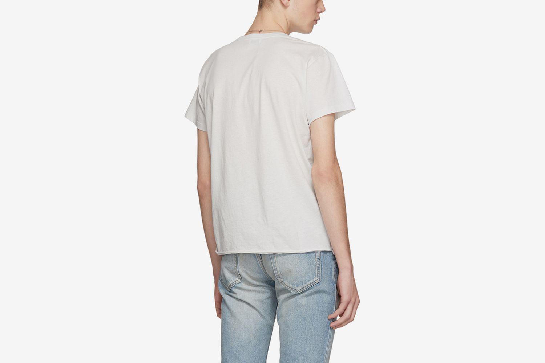 Ecru Gun Rose Logo T-Shirt