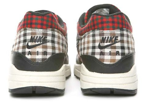 "info for a88fc aca14 More detailed images of the Nike Air Max 1 ""Tartan Plaid"" follow after the  jump."