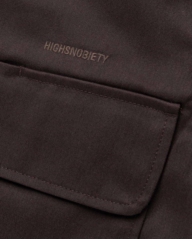 Highsnobiety x Dickies – Service Shirt Dark Brown - Image 4