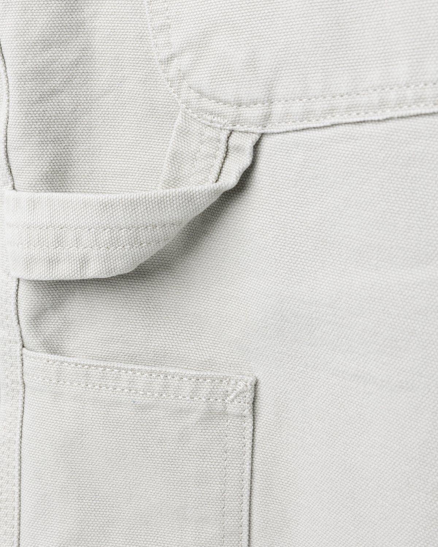 Carhartt WIP – Single Knee Pant Aged Canvas Grey - Image 5