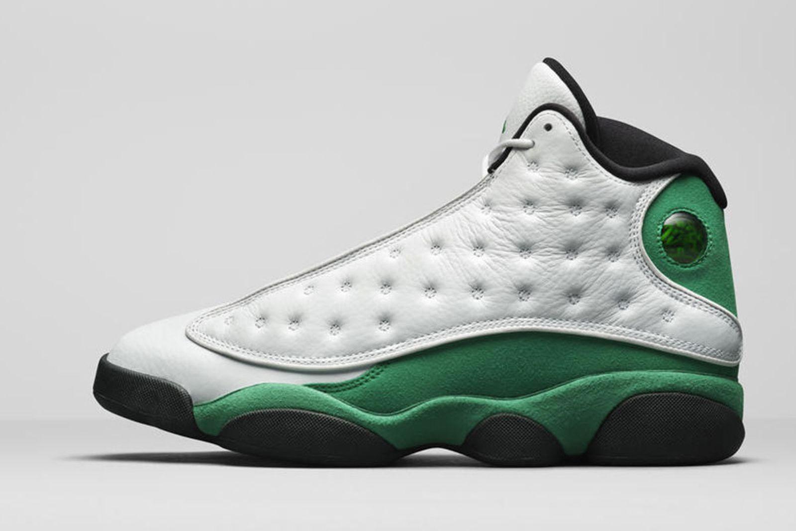 Jordan Brand Fall 2020 sneaker lineup air jordan 13 green white