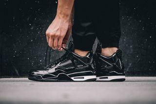 20322c70804d0d Air Jordan 11Lab4 Black