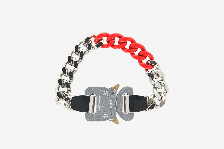Colored Links Buckle Bracelet