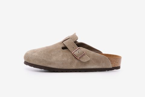 Suede Soft Footbed Boston Clogs