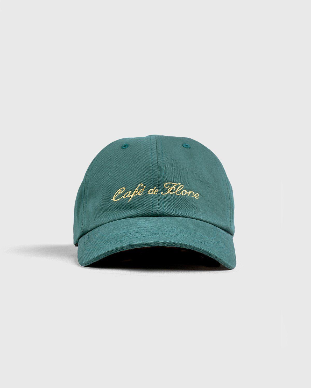 Highsnobiety — Not In Paris 3 x Café De Flore Cap Green - Image 1